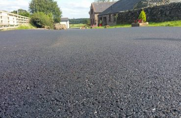 asfalto plastica riciclata
